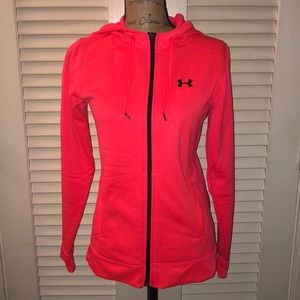 Like new! Under Armour Zip Front Jacket